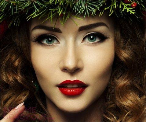 новогодний макияж фото 2016